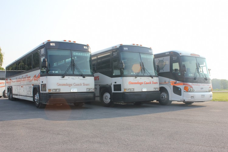 "A sampling of our MCI ""D"" model coaches"