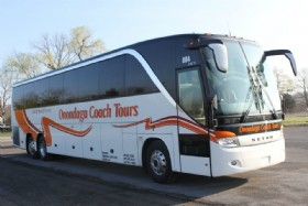 Setra S417-TC: Currently one in our fleet