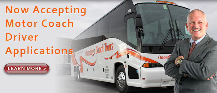 Motorcoach Trips and Tours from Syracuse New York